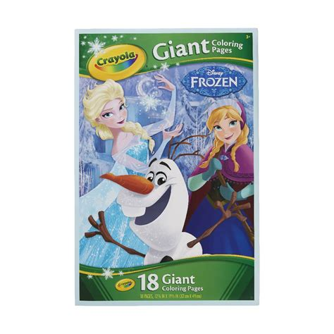 crayola giant coloring pages frozen crayola giant colouring pages frozen officeworks