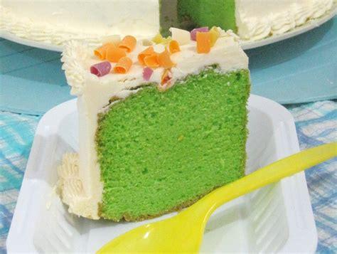membuat bolu dengan baking pan resep cara membuat sponge cake bolu pandan mudah resep
