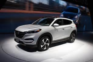 How Much Hyundai Tucson 2016 Hyundai Tucson Debuts At The New York Auto Show