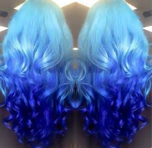 color on blue hair 11 ombre hairstyles you can try ombre hair color