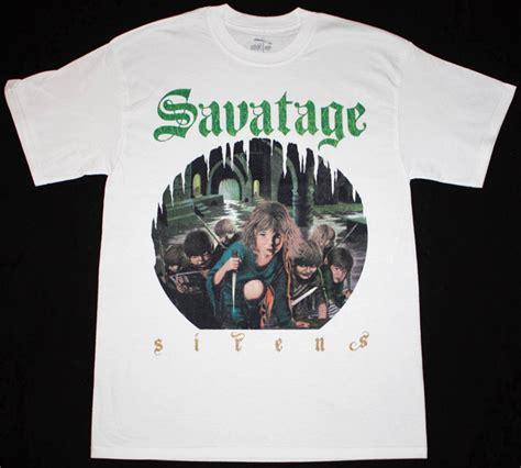 Tshirt Savatage savatage sirens 83 progressive jon oliva circle ii circle