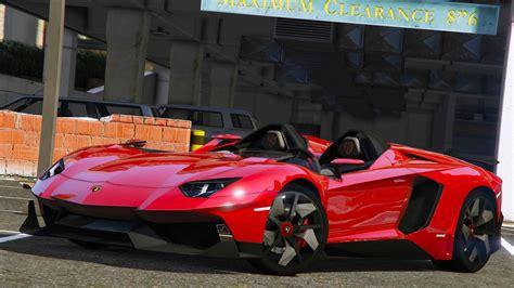 lamborghini aventador j 2012 lamborghini aventador j speedster add on gta5