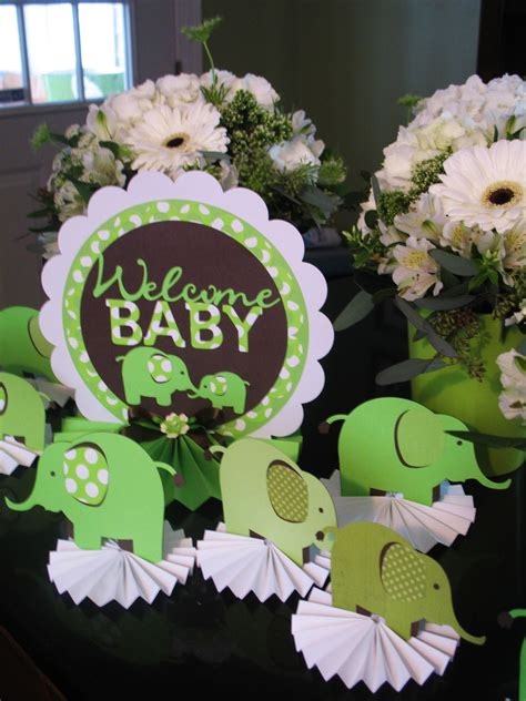 Green Baby Shower Decorations by Baby Shower Food Ideas Baby Shower Ideas Green And Brown