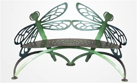 cricket forge butterfly bench cricket forge furniture decor handcrafted work of art