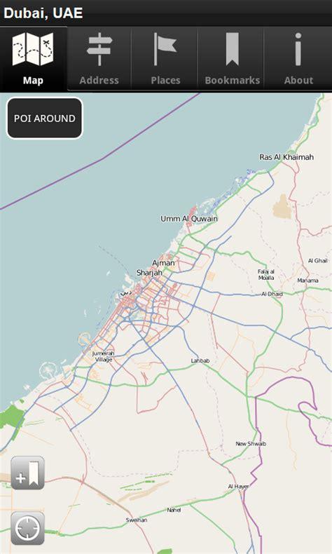 amazon uae offline map dubai uae cnm amazon de apps f 252 r android