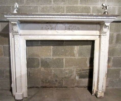 antique fireplace mantel ornate