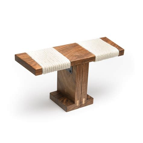 kneeling bench meditation ronin meditation bench black walnut