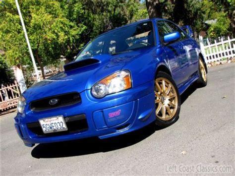 all car manuals free 2004 subaru impreza auto manual buy used 2004 subaru impreza wrx sti six speed manual 1 owner low mile california car in sonoma