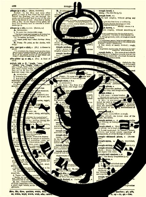printable white rabbit clock alice in wonderland white rabbit i m late by
