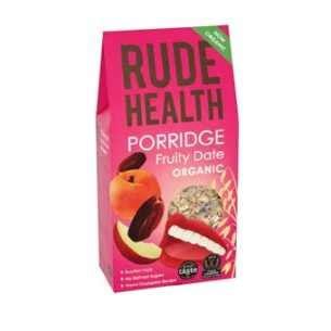 Organix Fruity Apple Poriddge fruity date porridge