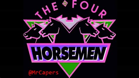 wcw four horsemen theme remix mr capers 2010 youtube