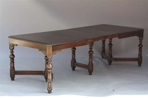 Antique Dining Room Furniture 1920 Antique Walnut 1920 S Dining Room Table At 1stdibs