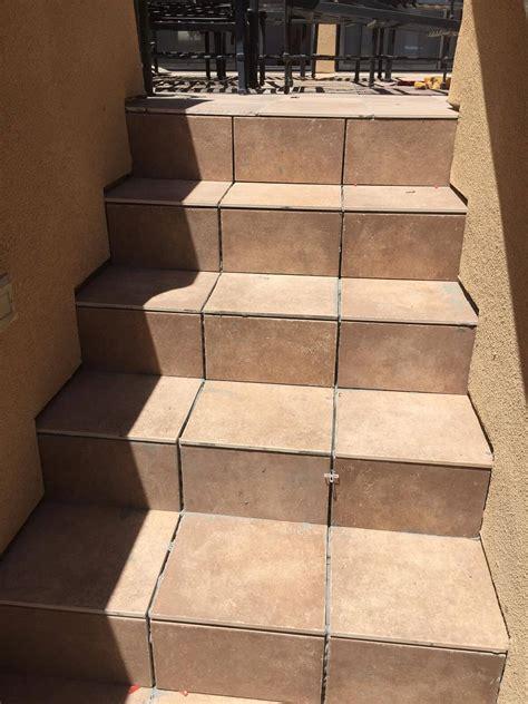 tile deck stairs montclair construction  foundation