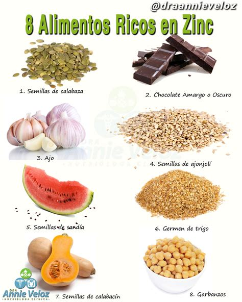 que alimentos contienen zinc 10 alimentos ricos en zinc