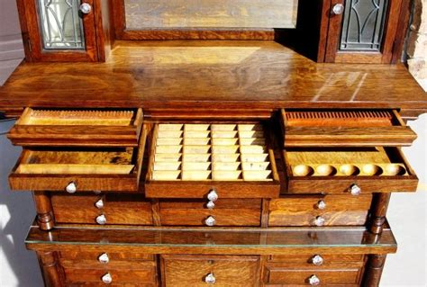 1890s french dental medical cabinet with drawers and 1890s dental cabinet novel places things pinterest