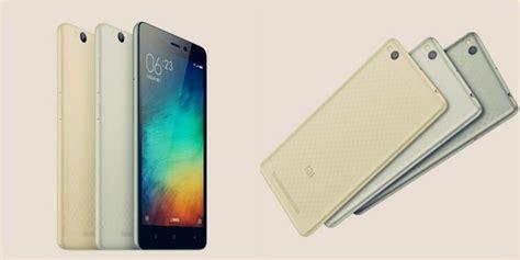 Hp Xiaomi Redmi 3 Di Indonesia xiaomi redmi 3 spesifikasi harga resmi di indonesia