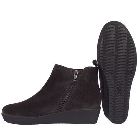 low wedge ankle boots yu boots