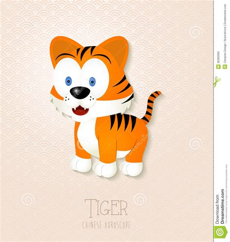 new year 2018 for tigers zodiac set year of the tiger stock photos image