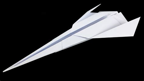 royal starship starwars paper airplane no 17