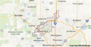 map of broomfield colorado broomfield colorado real estate broomfield realtor