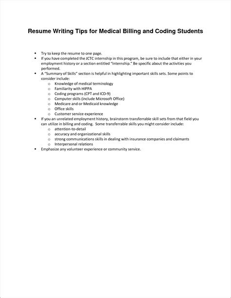 resume cover letter exles medical billing cover