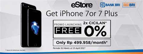 Grosir Promo Grosir Ekslusif Promo Iphone 7 Plus Ipaky 360 Ha estore promo launching iphone 7 dengan kartu kredit bri promo kartu kredit pilihkartu