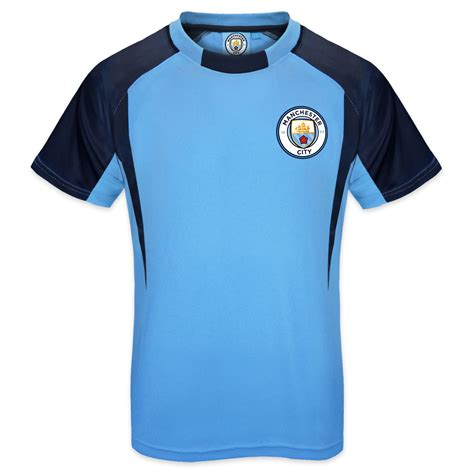 Tshirt Manchester City 10 From Ordinal Apparel manchester city fc official football gift boys poly kit t shirt ebay