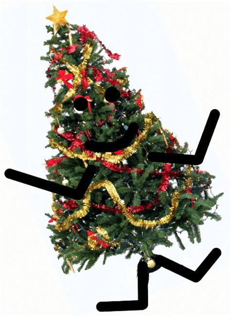 dancing christmas tree picture tree animated gif