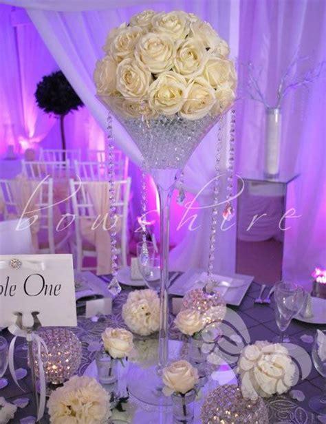 large plastic martini glasses centerpieces vases home