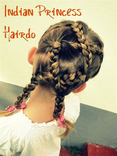hairstyles for indian princess hair style for a little girl indian princess hairdo