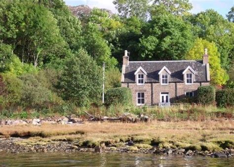 Luxury Scottish Cottages By The Sea by Gracie S Cottage On The West Coast Of The Scottish