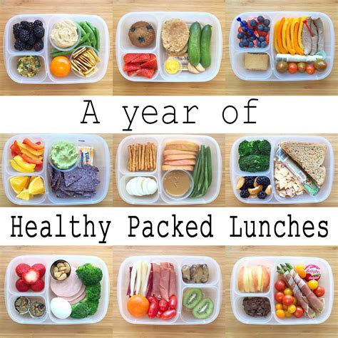 healthy lunches  pack  work