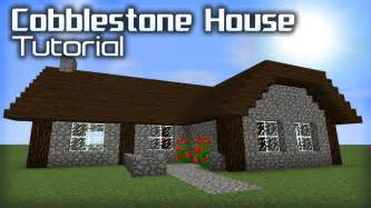 how to build a house how to make a cobblestone house in minecraft