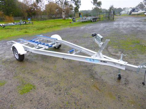 stingray alloy boats aluminium single axle trailer 5 2m jv marine melbourne