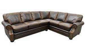 Leather sectional bonanza leather furniture texas leather