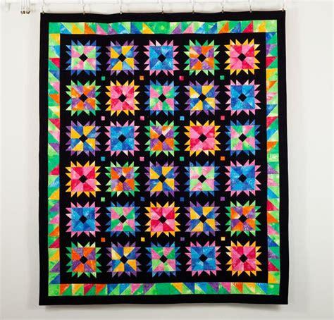 flower power quilt kit white quilty blogs