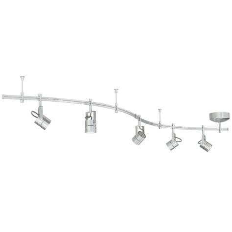 banister lights five light rail kit with focus heads 800ral5fcn destination lighting