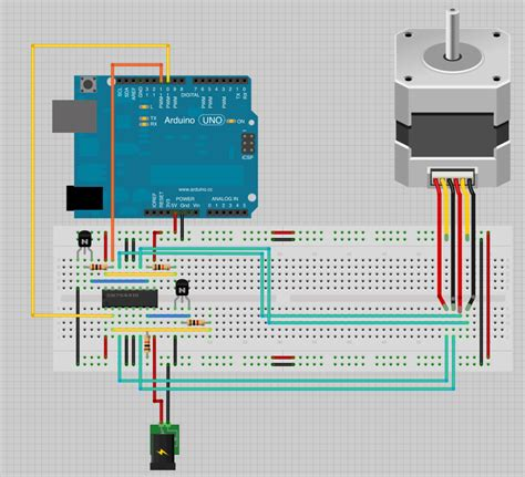Stepping Motor 4 Kabel motorsteuerung eines schrittmotors stepper motor