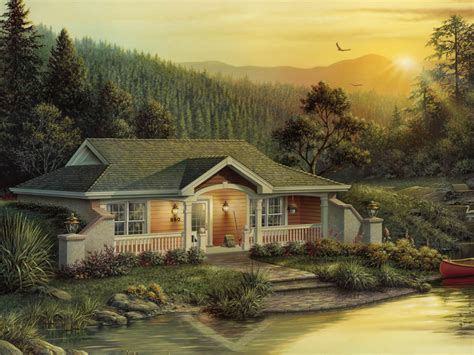 Woodhaven Cottage by Woodhaven Vacation Home Plan 007d 0156 House Plans And More