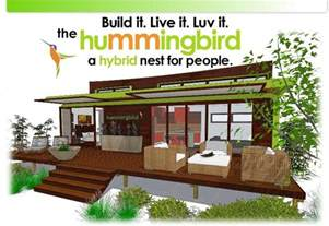 small eco friendly house plans the new leap adaptive hummingbird is a sensational