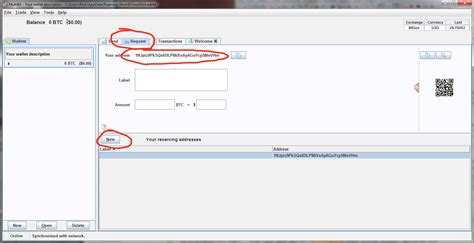 bitcoin wallet address i ve downloaded multibit bitcoin client but i don t know
