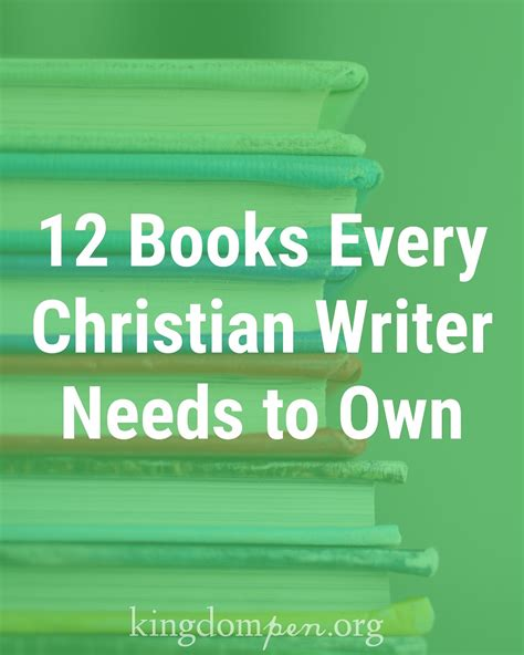 7 Books Every Writer Should Own by Kingdom Pen Equipping Adults To Write For