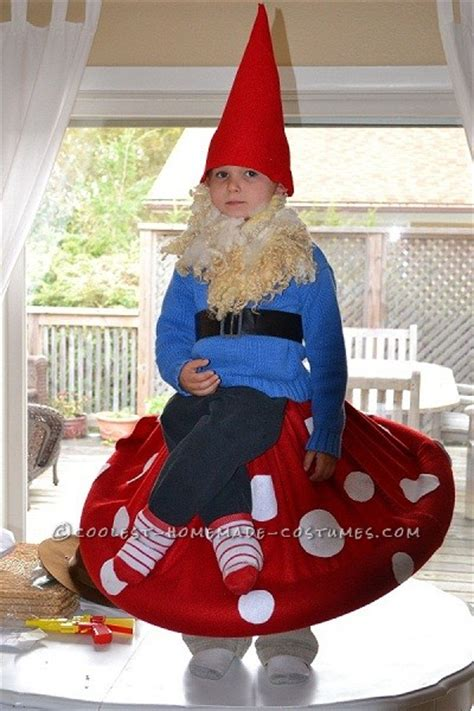 Best Handmade Costumes - best costume in town gnome on a toadstool