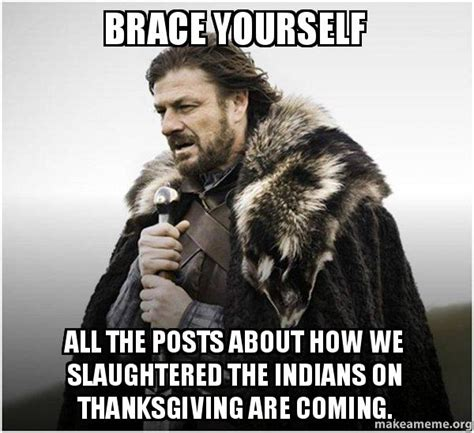 Make A Brace Yourself Meme - brace yourself all the posts about how we slaughtered the