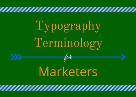 typography jargon design archives