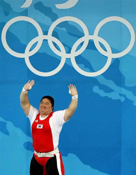 miran is backi picture jang miran photos olympics day 8 weightlifting 10 of
