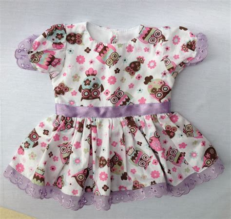 fashion doll e cia vestido corujinhas fashion doll e cia elo7