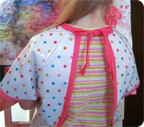 pattern for an art smock sew baby art smock kids s l e pattern