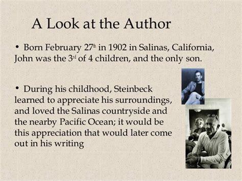 john steinbeck biography lesson plan steinbeck bio