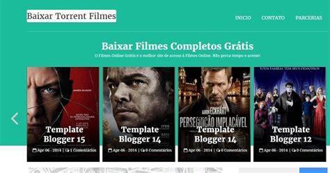 templates para blogger de filmes template galeria baixar filmes torrent blogger template